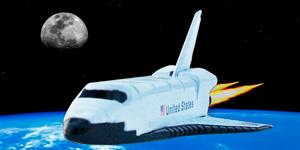 Новые видео для детей.  Новые игрушки для мальчиков.  Space shuttle.